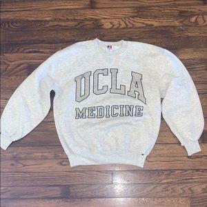UCLA MEDICINE RUSSEL VINTAGE SWEATSHIRT HEATHER